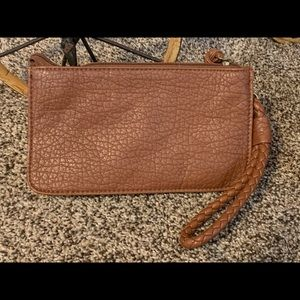 New w/out tags Maurices Brown Wristlet